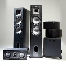 klipsch quintet home theater system ks 14 surround speaker pair klipsch