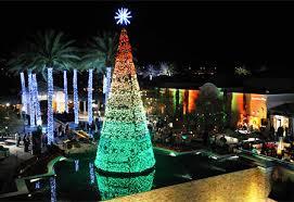 christmas light displays in phoenix scottsdale arizona christmas trees around the world pinterest