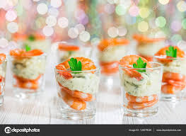 cocktail shrimp shot glasses with delicious homemade tartar