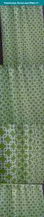 Curtains 100 Length Chartreuse Green And White Full Length Curtains Interlocking