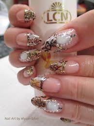 mayan moonstone nail art step by step lcn canada