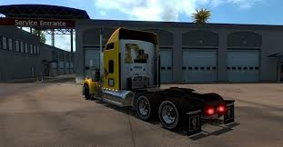 kenwood t800 kenworth w900 caterpillar skin for ats american truck simulator