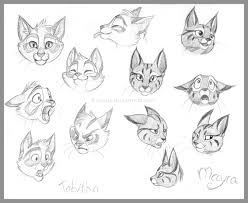 kitty expressions by cosmicspectrumm on deviantart