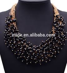 handmade beaded necklace designs images Bead necklace designs transparent beads handmade necklace gold jpg