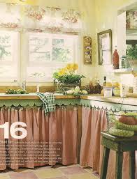 Just Cabinets And More by Eye For Design Decorating With Skirted Kitchen Cabinets And Sinks