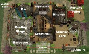 Minecraft Castle Floor Plan Mod The Sims Gwrych Medieval Great Hall 2 Versions