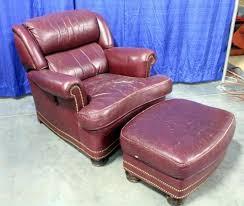 tilt back chair with ottoman hancock moore leather austin tilt back chair with ottoman metal