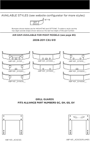 volvo truck parts catalog truck mack bumpers alliance truck parts