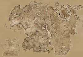 Map Of Skyrim Skyrim Forged In Blood Literature Guide