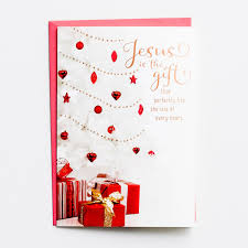 jesus is the gift boxed kjv cards dayspring
