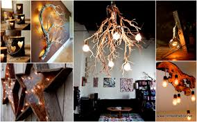 25 beautiful diy wood lamps and chandeliers that will light up
