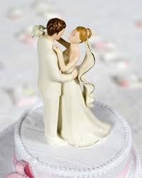 and groom wedding cake toppers white porcelain and groom wedding cake topper figurine
