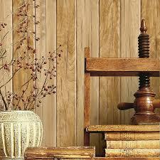 pvc waterproof striped wall paper wood board wood grain wallpaper
