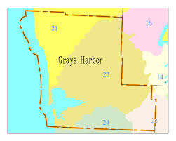 Washington State County Map by Water Quality Stories Stories For Grays Harbor County