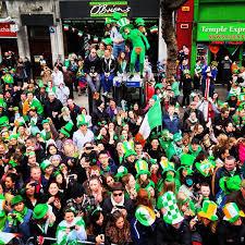 st patrick u0027s day in dublin ireland bart la
