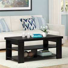 home decor austin coffee table linon home decor austin black ash coffee table