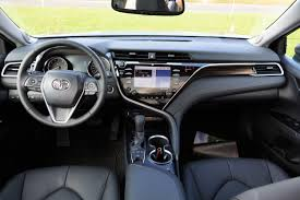 toyota camry 2017 interior first drive 2018 toyota camry is fun to drive exhausted ca