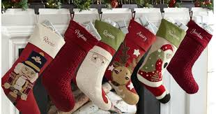 Pottery Barn Free Shipping Codes Pottery Barn Personalized Christmas Stockings As Low As 7 Shipped