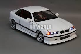 bmw e36 m3 drift 1 10 rc car drift shell bmw e36 m3 w light buckets ebay