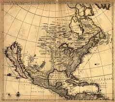 The Map Of United States by Map Of United States In 1600 U0027s