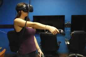 vr in console room with more games