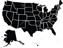 Usa Map Alaska by A Chunky Cartoon Map Of The Usa Including Alaska And Hawaii