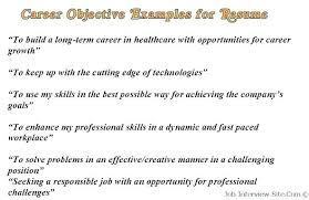 resume exles objective resume sles objective