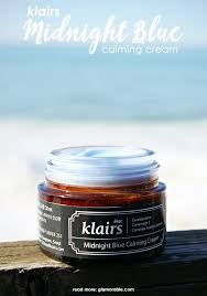 klairs midnight blue calming cream glamorable