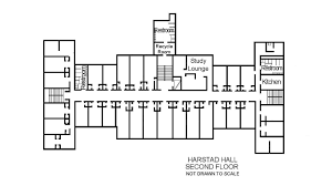 harstad hall floor plans residential life plu