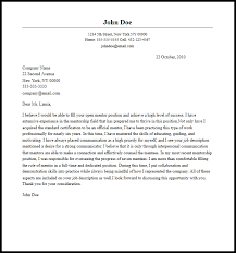 professional mentor cover letter sample u0026 writing guide