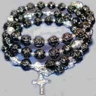 rosary bead bracelet catholic bracelets inspirational and fashion bracelets