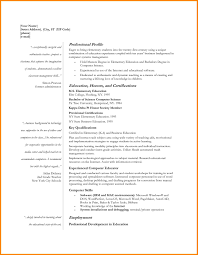Early Childhood Education Resume Sample by Resume Templates Education