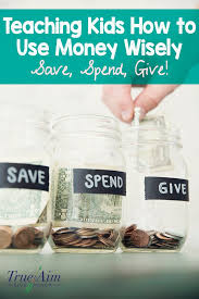 save spend give plus free printable for teaching
