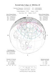 Map Of Usa With Coordinates by Nasa Solar Eclipses 1981 1990