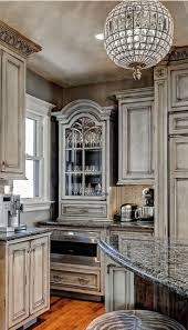kitchen gray distressed kitchen cabinets cream colored kitchen
