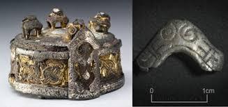 this tiny ornament may belonged to harold bluetooth s shaman