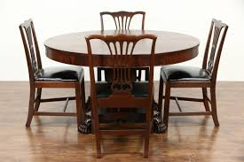 Mahogany Dining Room Furniture Sold Round 54