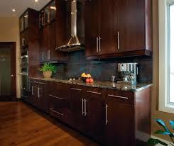 Espresso Kitchen Cabinets Modern Kitchen Cabinets In Espresso Finish Kitchen Craft