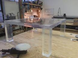 Acrylic Side Table Ikea Coffee Table Personable Vintage Hollywood Regency Lucite Coffee