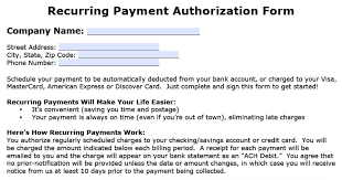 download sample credit card authorization form template pdf fr