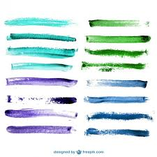10 paint brush stroke vectors download free vector art