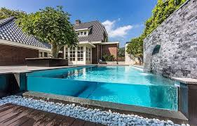 Above Ground Pool Landscaping Ideas with Modern Above Ground Pool Landscaping Ideas With Rocks And Trees