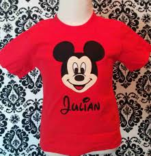 home mickey mouse shirts personalized mickey mouse