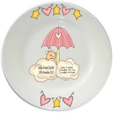 personalized birth plates baby birth plates flair original