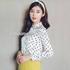 trendy blouses polka dot blouses clothes wholesale clothing wear