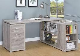 Grey Office Desk Best Buy Furniture And Mattress Grey Driftwood Office Desk