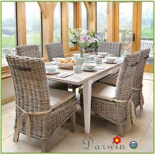 Dining Room Sets With Rattan Chairs Wicker Dining Room Set Rattan - Rattan dining room set