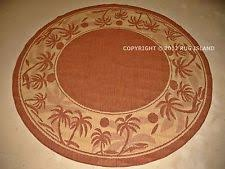 Round Tropical Area Rugs Polypropylene Round Tropical Area Rugs Ebay