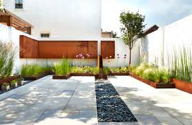 Rear Patio Designs by A Modern Row House For A Fun Couple With A Love Of Cooking