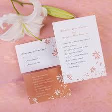 custom wedding invitation custom simple rustic country inexpensive wedding invites